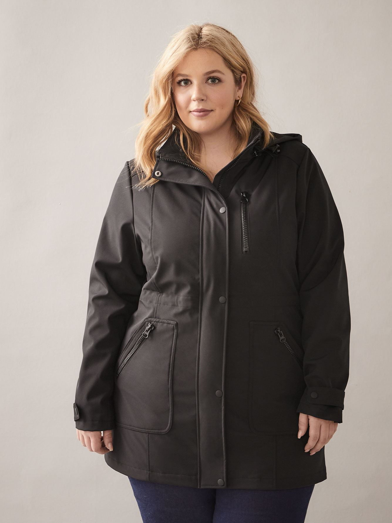 Mid-Length Softshell Anorak - In Every Story 2