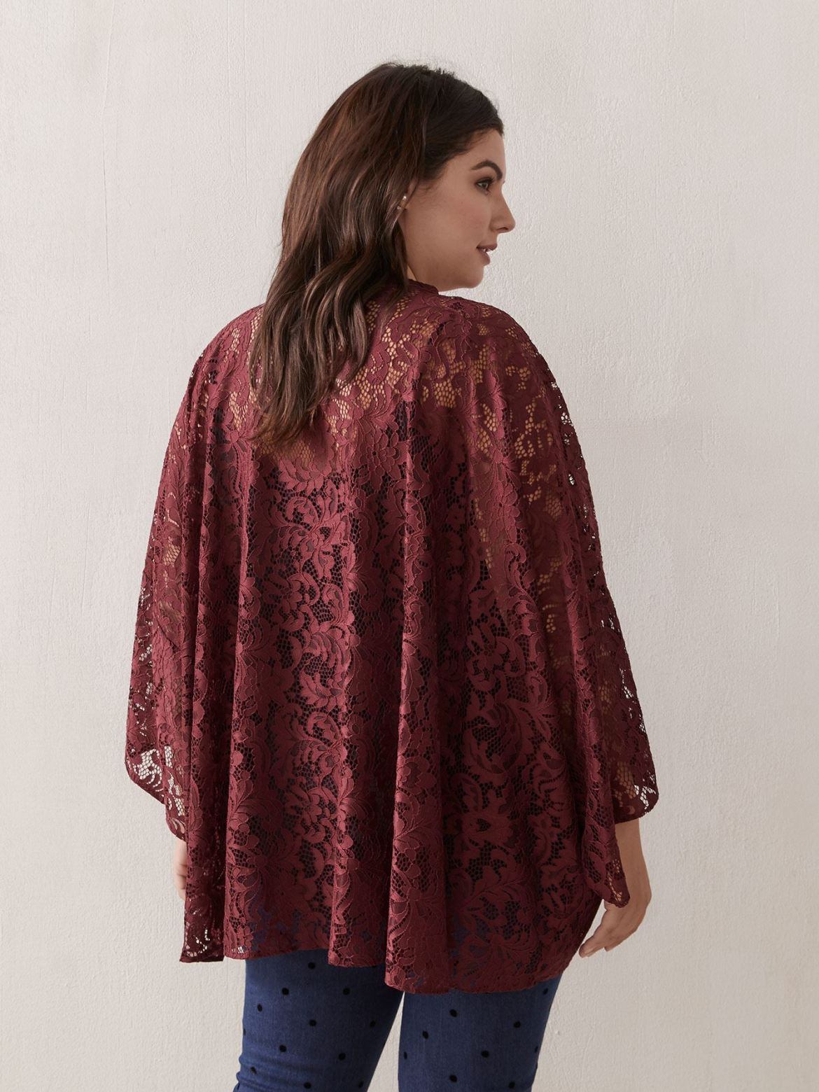 Lace Cover-Up Kimono - In Every Story
