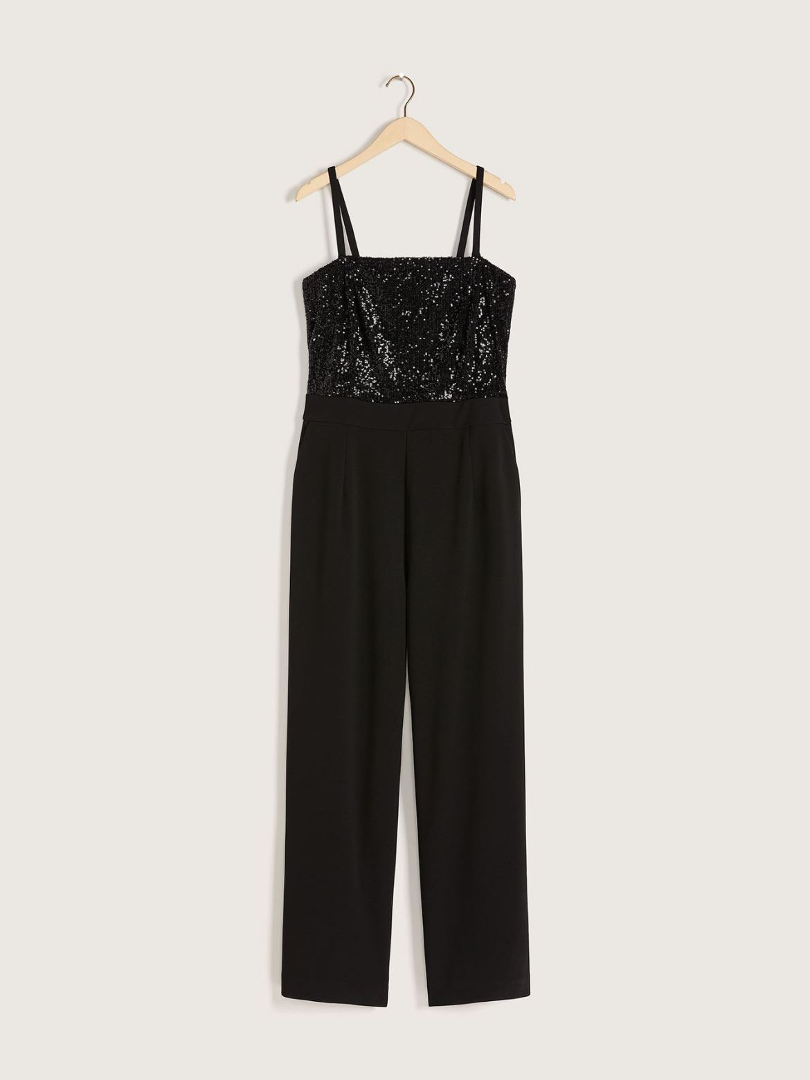 Strapless Sequin Jumpsuit - Christian Siriano