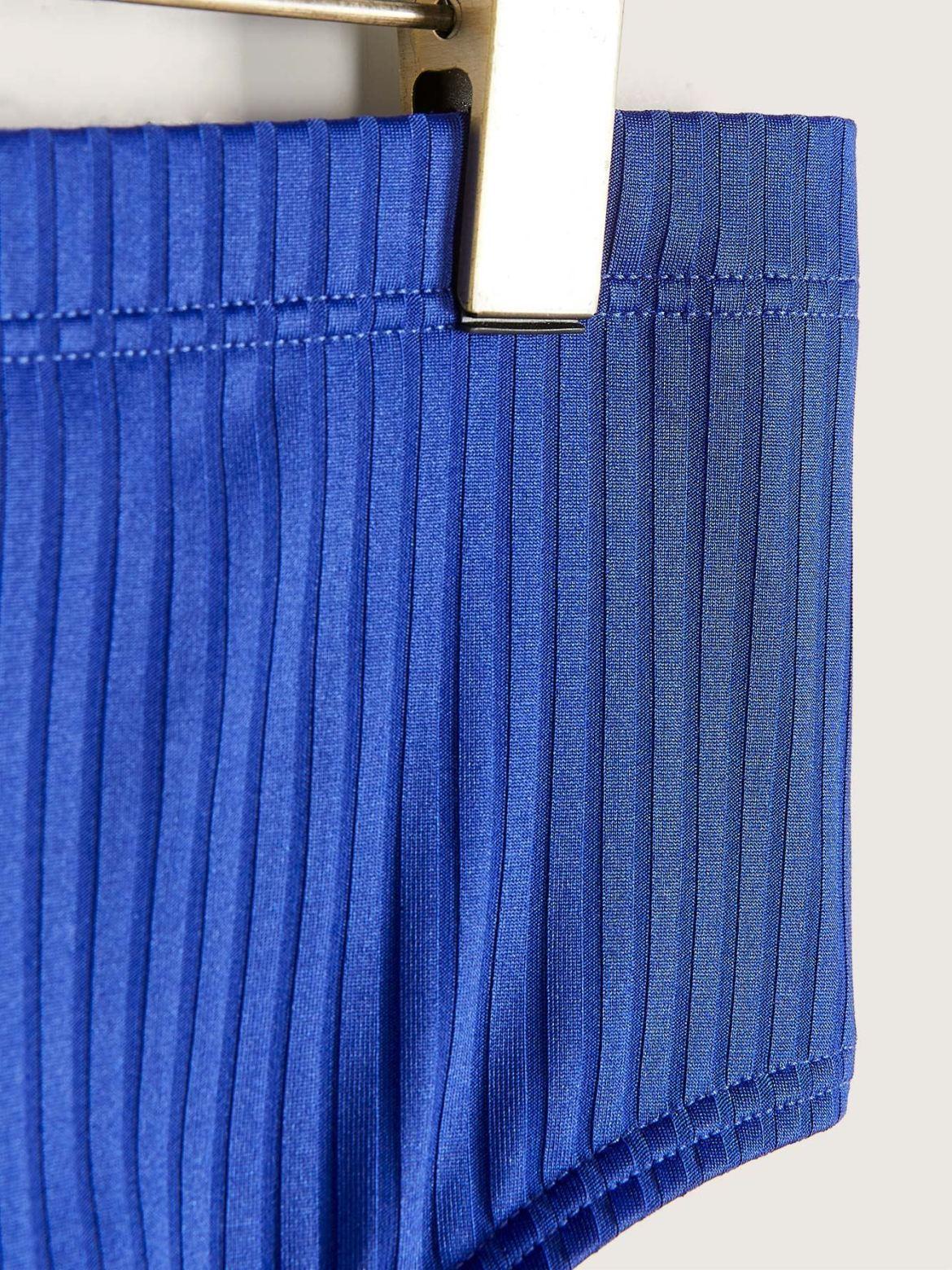 High Waist Colour Block Bikini Bottom - Addition Elle