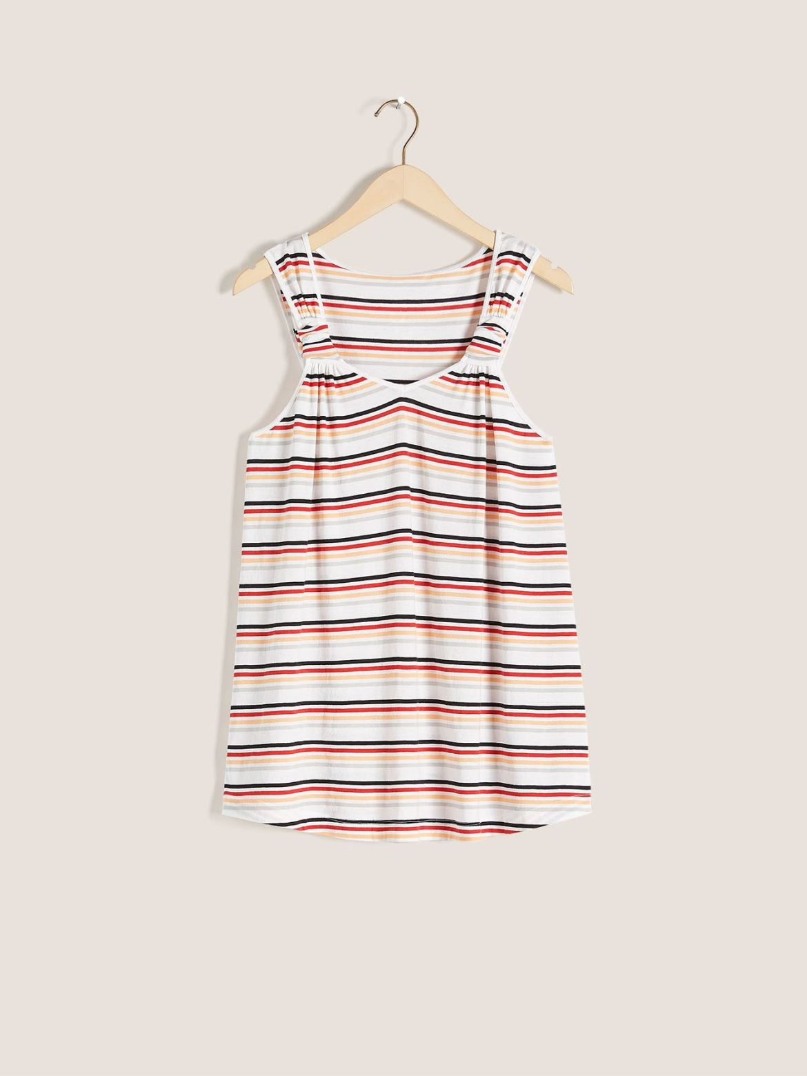A-Line Tank Top with Knots - In Every Story