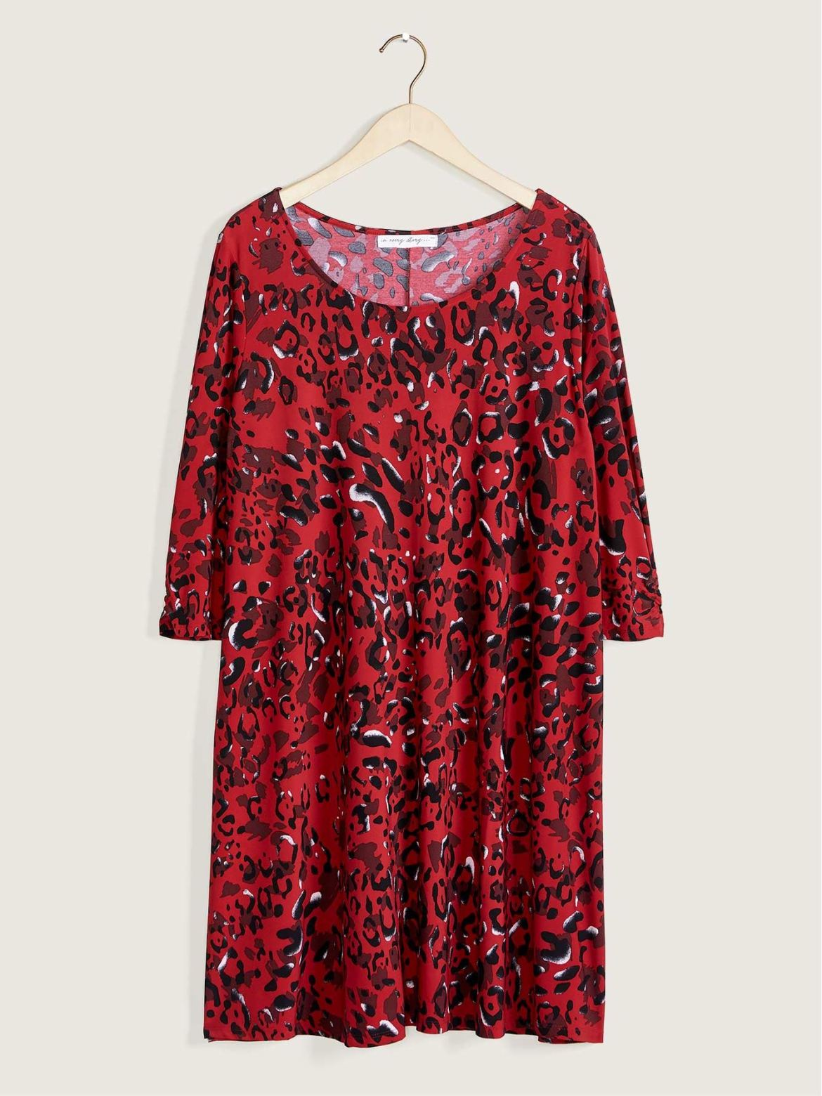 Printed Swing Dress – In Every Story