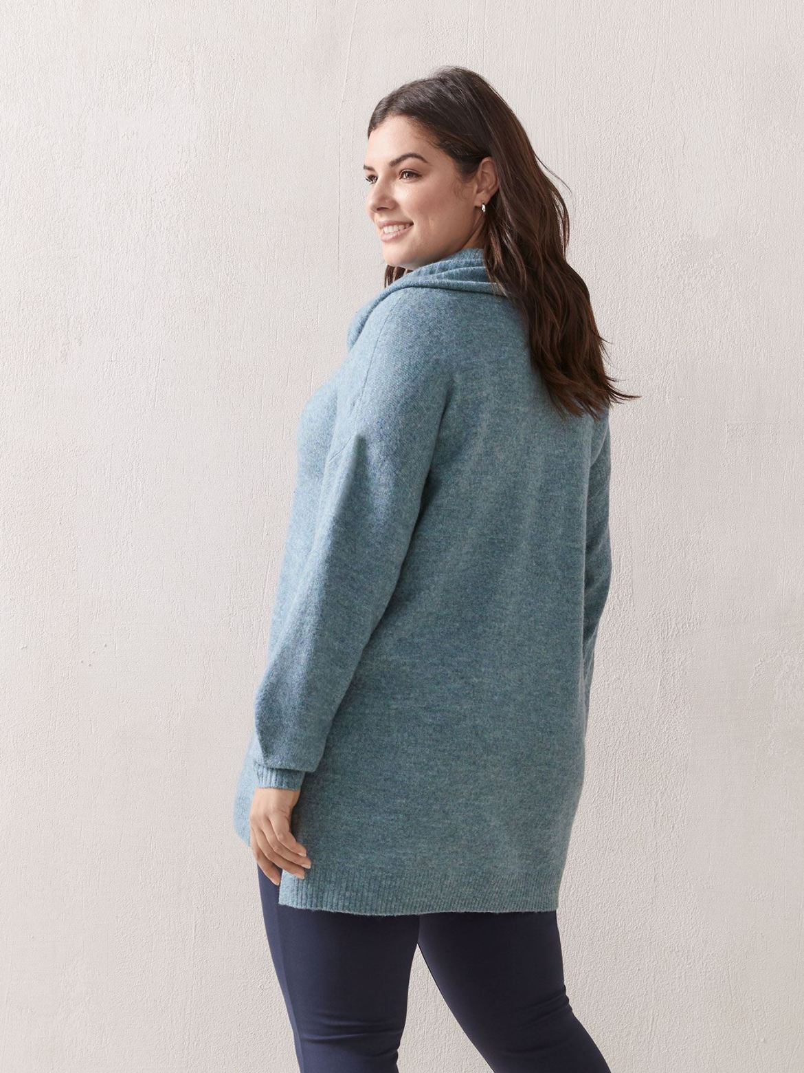 Long-Sleeve Sweater With Cowl Neck - In Every Story