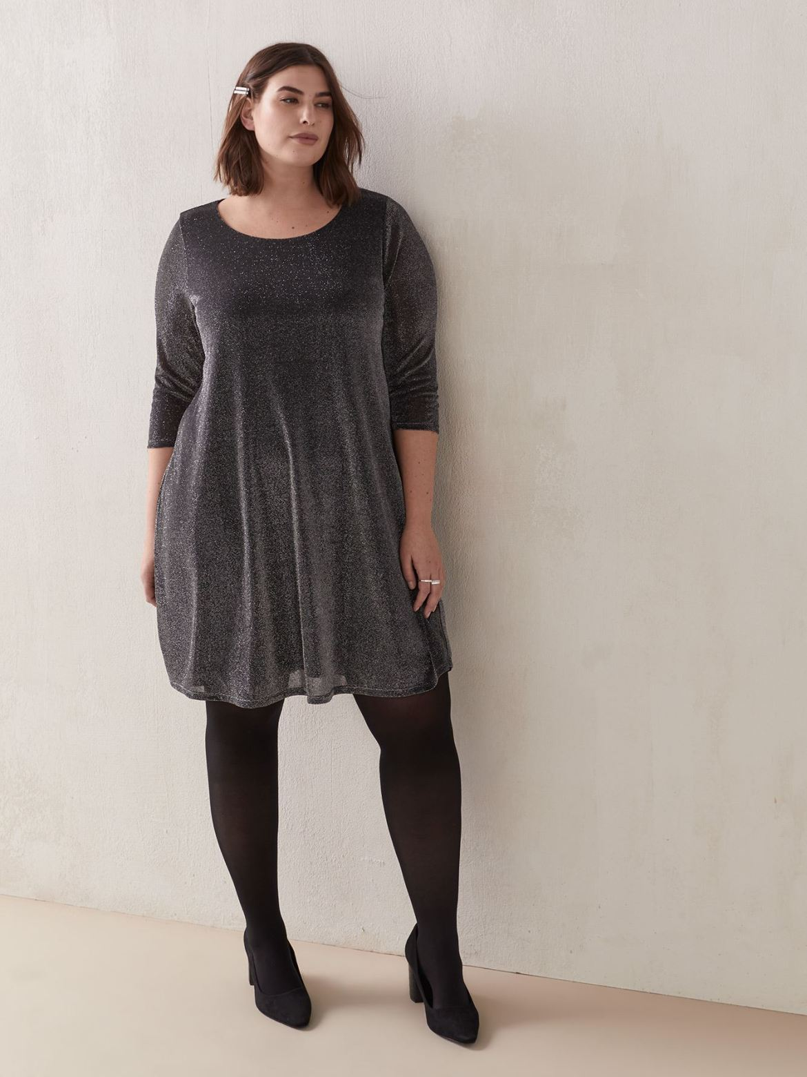 Solid Swing Dress – In Every Story