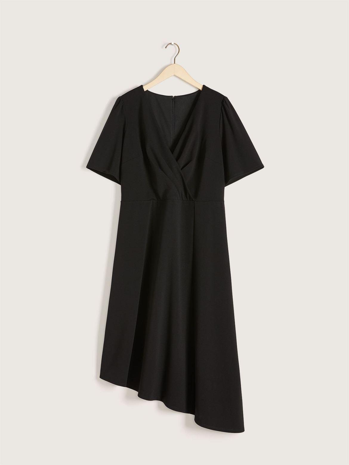 Fit & Flare Scuba Dress - Christian Siriano