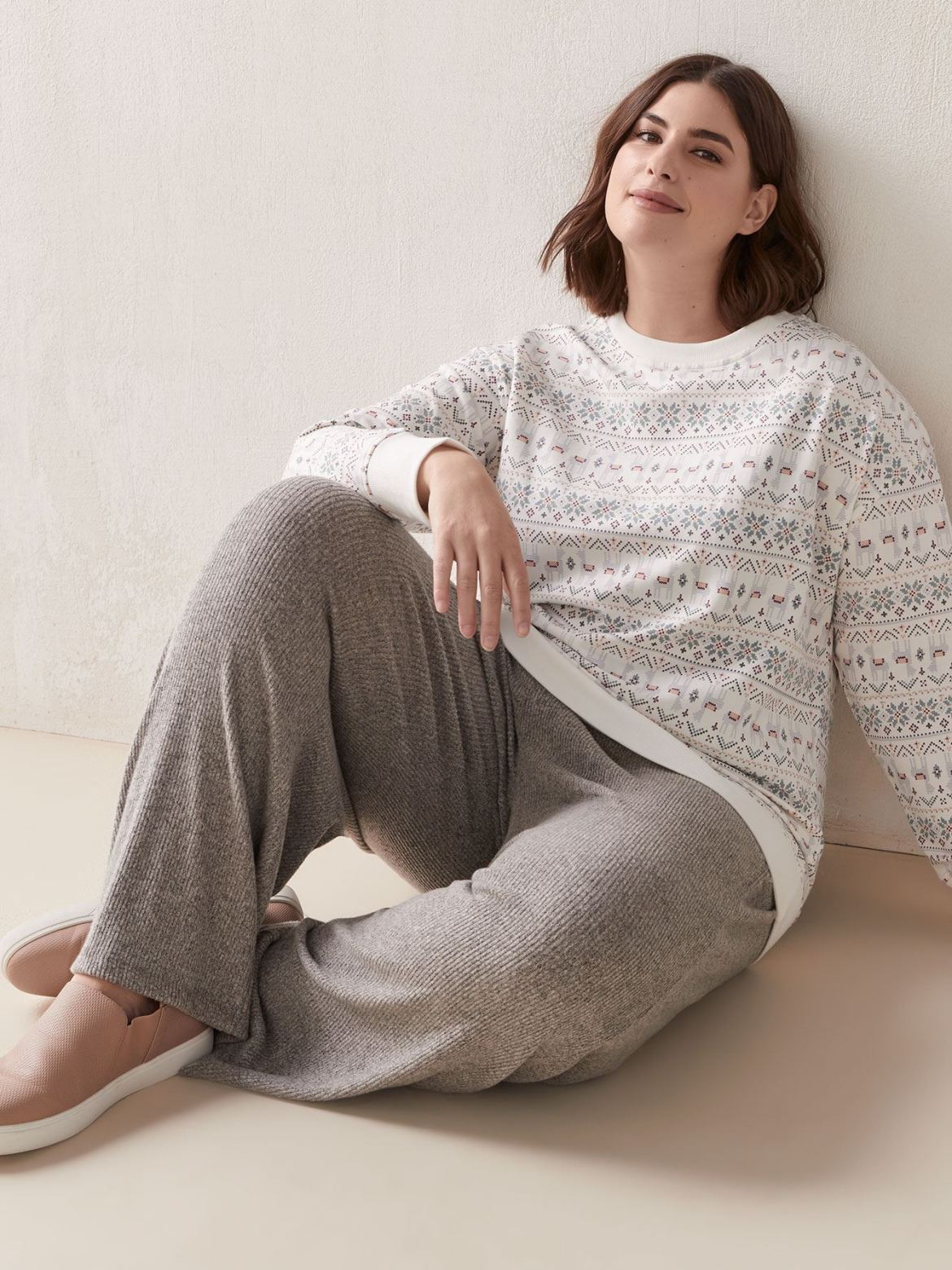 Relaxed French Terry Sweatshirt - In Every Story