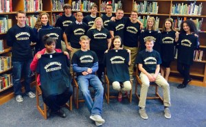 These PMHS students learned Tuesday that they have been accepted to Millersville University.