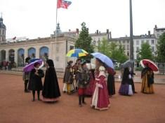 Attente de l'arrivée de François 1er