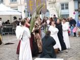 Pagaille rangée sur la place St Jean