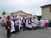 les classes ont organisé le défilé
