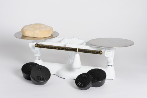 1701 B 16 lb bakers scale with SS Plates & Weights by Penn Scale, made in USA