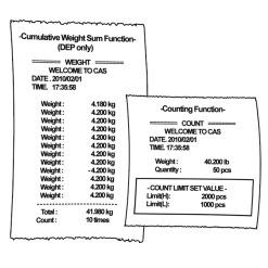 ED Series- receipt example