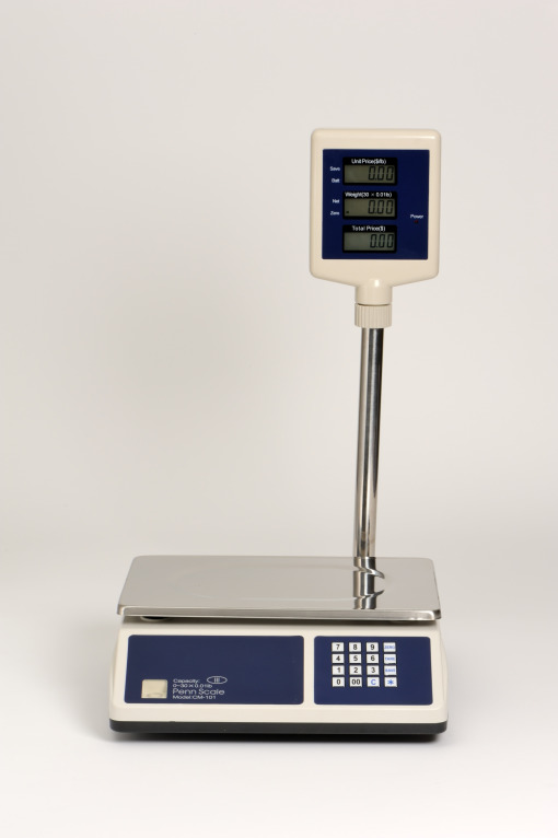 CM-101 P, 30 lb price comouting scale, front display