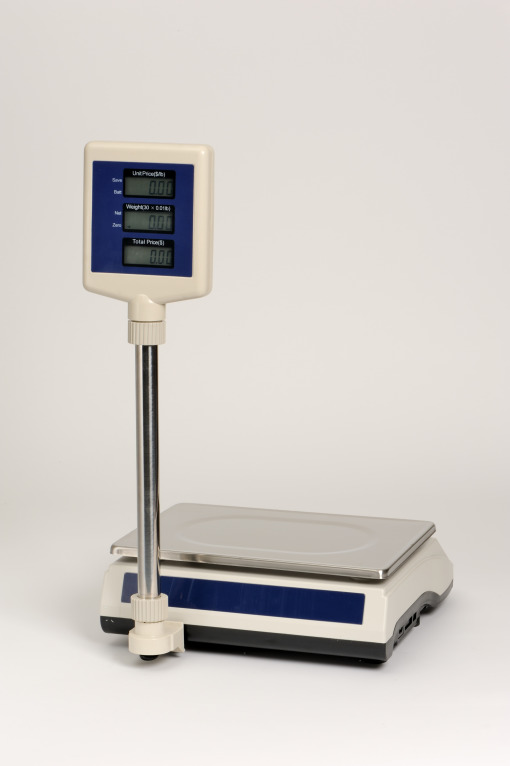 CM-101 P, 30 lb price computing scale, NTEP certified by Penn Scale