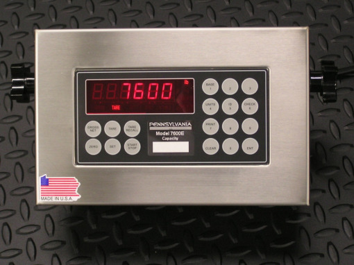 7600 counting/bench scale