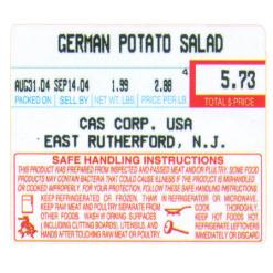LST-8030 Label