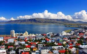 Downtown Reykjavik, Iceland