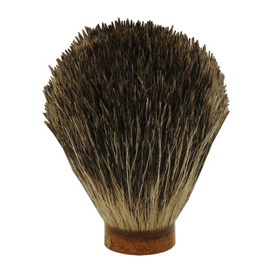 a grade mixed badger hair shaving brush 20 5mm base standard quality at penn state industries