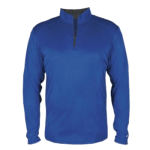 Personalized 1/4 Zip Pullover (royal) $40