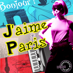 PNBT 1052 J'AIME PARIS