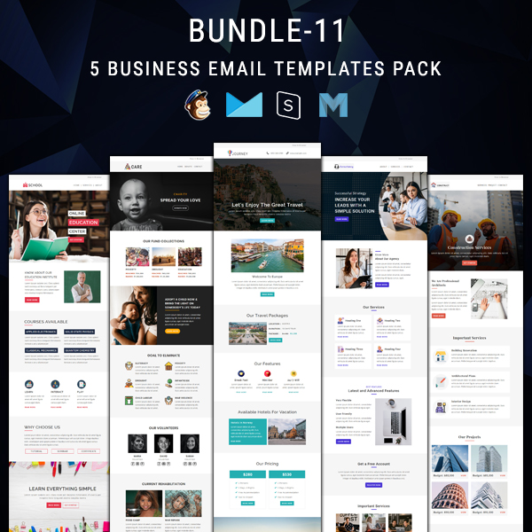 Overview of all products overview of hubspot's free tools marketing automation software. 5 Email Newsletter Templates Bundle 11 Pennyblack Templates