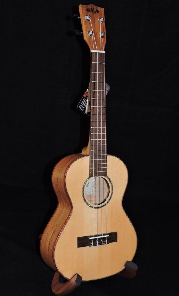 kala ka fmtg solid spruce top flame maple back sides tenor ukulele penny lane emporium. Black Bedroom Furniture Sets. Home Design Ideas