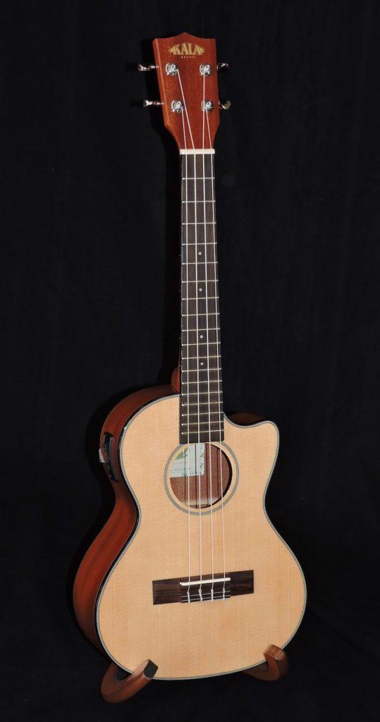 kala ka stge c cutaway acoustic electric tenor ukulele penny lane emporium. Black Bedroom Furniture Sets. Home Design Ideas