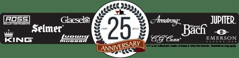 25 Year Anniversary Instrument Rentals