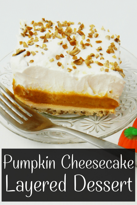 Layered Pumpkin Dessert Recipe