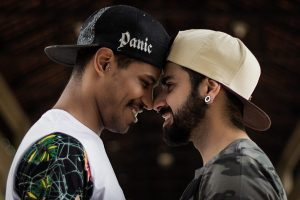 Selective Focus Photography of Two Smiling Men Facing Each Other Photo by Marcelo Chagas from Pexels