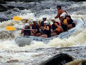 White Water Rafting Maine Class 5