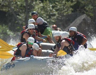 The Ultimate Penobscot River Rafting trip.