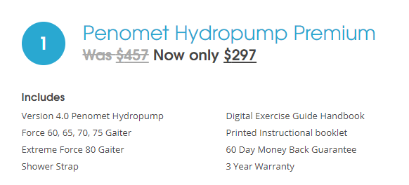 Premium Hydropump Package