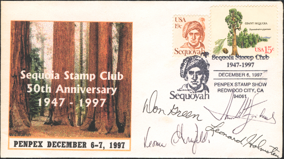 1997 Show Cachet signed by PENPEX jury