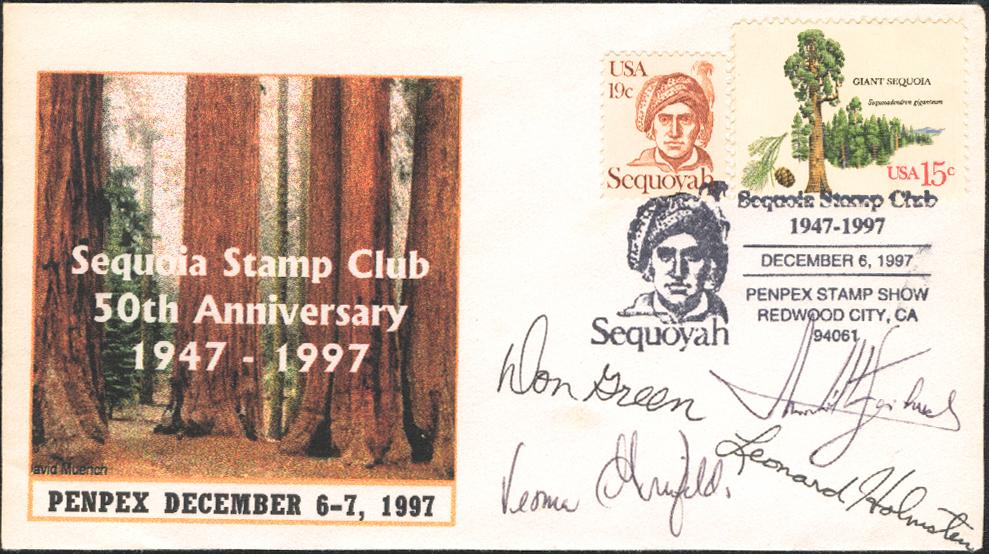 1997 Show Cachet signed by PENPEX jury