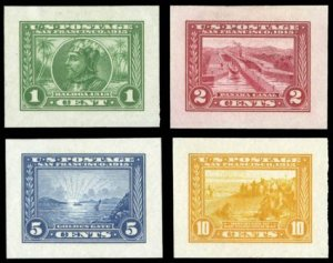 PANAMA-PACIFIC COMMEMORATIVE STAMPS - ISSUE OF 1913