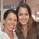 Elizabeth Gaddini with Mom, Receives Collectors Scholarship