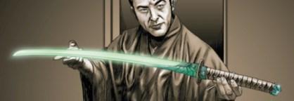 espada de jade verde