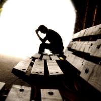 A visão que um deprimido tem sobre o mundo