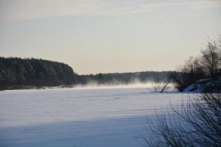 Paysage hivernale