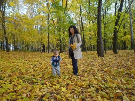les changements dans ma vie_automne au parc
