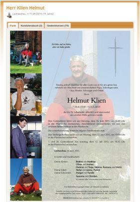 Pate Klien Helmut