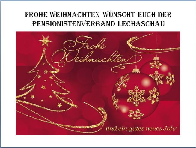 Weihnachten Pensionistenverband