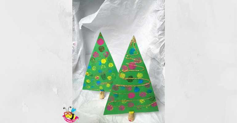 Pagina 1 di 8 della fotogallery lavoretti di natale con tappi di sughero. Albero Di Natale Dipinto Con I Tappi Di Sughero Penso Invento Creo