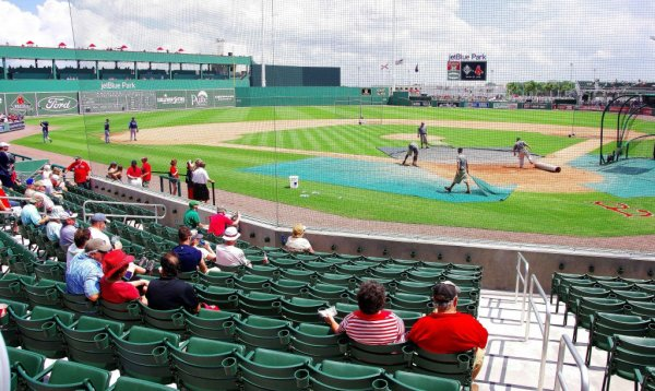 Boston Red Sox at Jet Blue Park--Ft Myers Fl ...