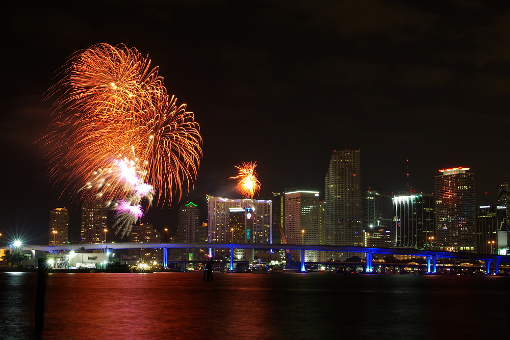 Happy New Year at Miami      PentaxForums com PENTAX K10D Photo