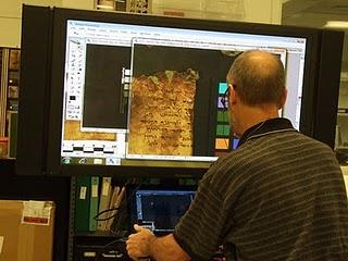 Los Rollos del Mar Muerto en Formato Digital y en Internet