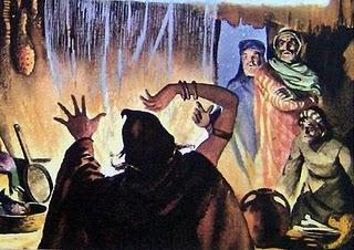 Saúl, Samuel y la Adivina de Endor