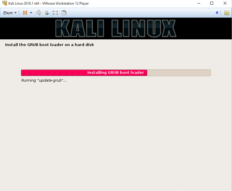 How To Install Kali Linux In VMware Player  