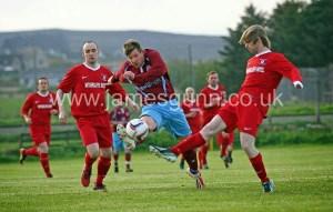 Michael Petrie hat-trick hero v Castletown